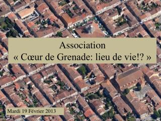 Association  « Cœur de Grenade: lieu de vie!? »