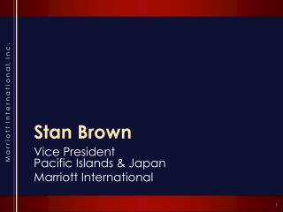 Stan Brown