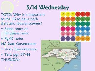 5/14 Wednesday
