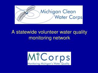 A statewide volunteer water quality monitoring network
