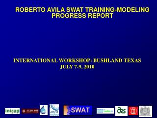 ROBERTO AVILA SWAT TRAINING-MODELING  PROGRESS REPORT