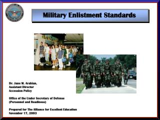Military Enlistment Standards