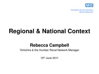 Regional & National Context