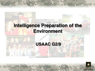 Intelligence Preparation of the Environment