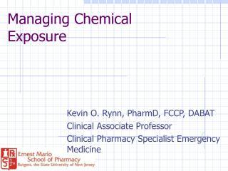 Managing Chemical Exposure