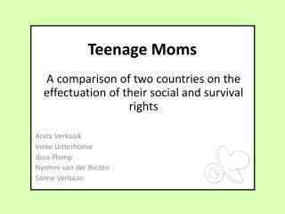 Teenage Moms