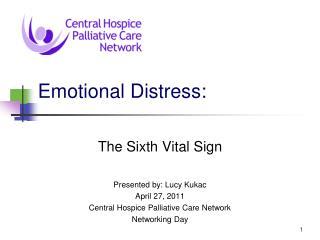 Emotional Distress: