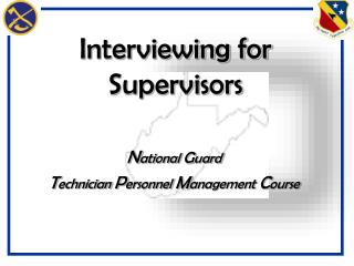 Interviewing for Supervisors