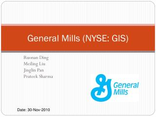 General Mills NYSE: GIS