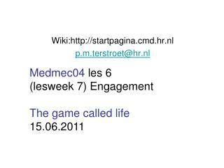 Wiki:startpagina.cmd.hr.nl p.m.terstroet@hr.nl