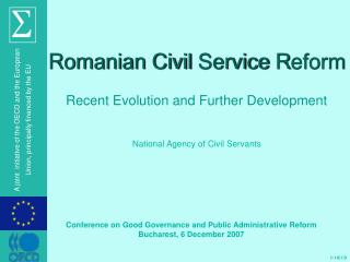 Romanian Civil  S ervice  R eform