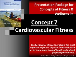 Concept 7 Cardiovascular Fitness