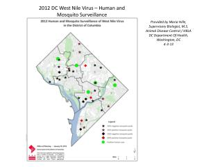 2012 DC West Nile Virus – Human and Mosquito Surveillance