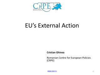 EU's External Action
