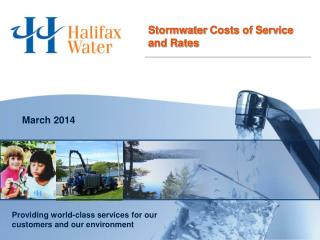 Stormwater  Costs of Service  and Rates