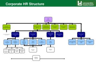 Corporate HR Structure