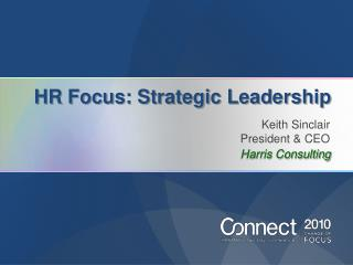 HR Focus: Strategic Leadership