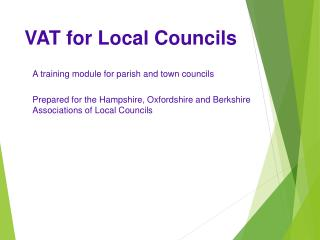 VAT for Local Councils