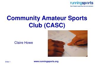 Community Amateur Sports Club (CASC)