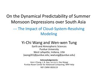 On the Dynamical Predictability of Summer Monsoon Depressions over South Asia