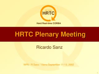 HRTC Plenary Meeting