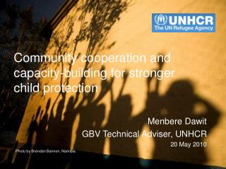 Community cooperation and capacity-building for stronger child protection