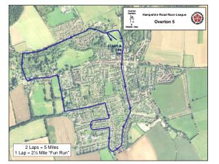 Hampshire Road Race League Overton 5