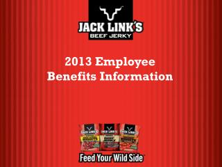 2013 Employee Benefits Information