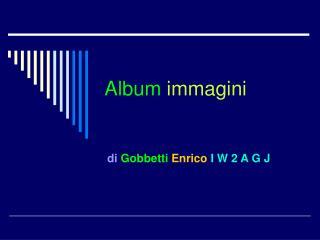 Album immagini