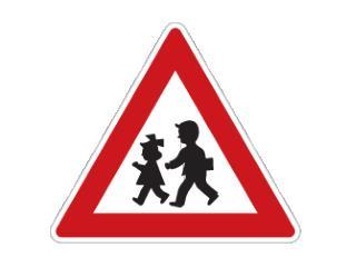 """,, Deti """" –  výstražná dopravná značka"""