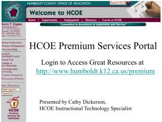 Premium Services Portal