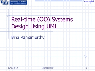 Design Of Real-Time Systems Using UML