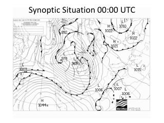Synoptic Situation 00:00 UTC