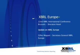 XBRL Europe�