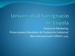 Universidad San Ignacio de Loyola