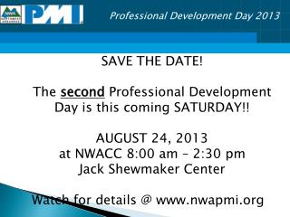 Professional  Development Day  2013