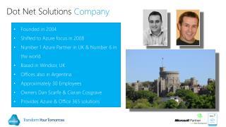 Dot Net Solutions  Company