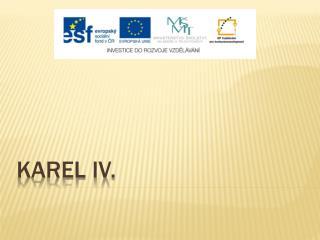 Karel  iv .