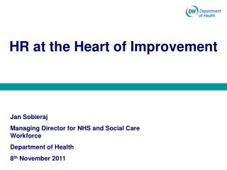 HR at the Heart of Improvement