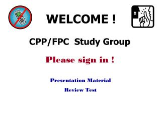 CPP/FPC  Study Group