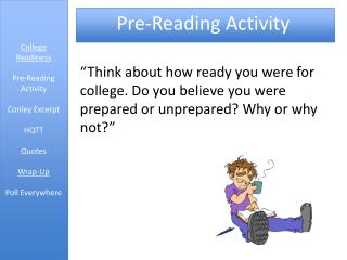 Pre-Reading Activity