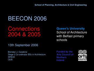 Queen's University School of Architecture with Belfast primary schools
