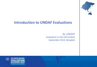 Introduction to UNDAF Evaluations
