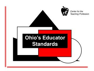 Ohio�s Educator Standards