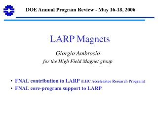 LARP Magnets