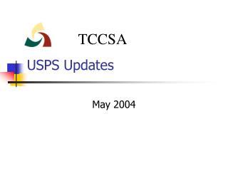 USPS Updates