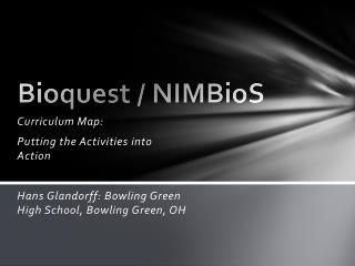 Bioquest  /  NIMBioS