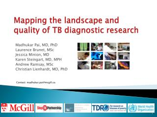 Mapping the landscape and quality of TB diagnostic research