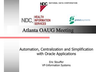 Atlanta OAUG Meeting