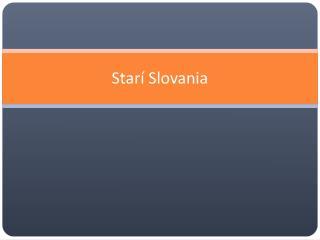 Starí Slovania
